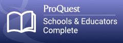 ProQuest Schools & Educators button