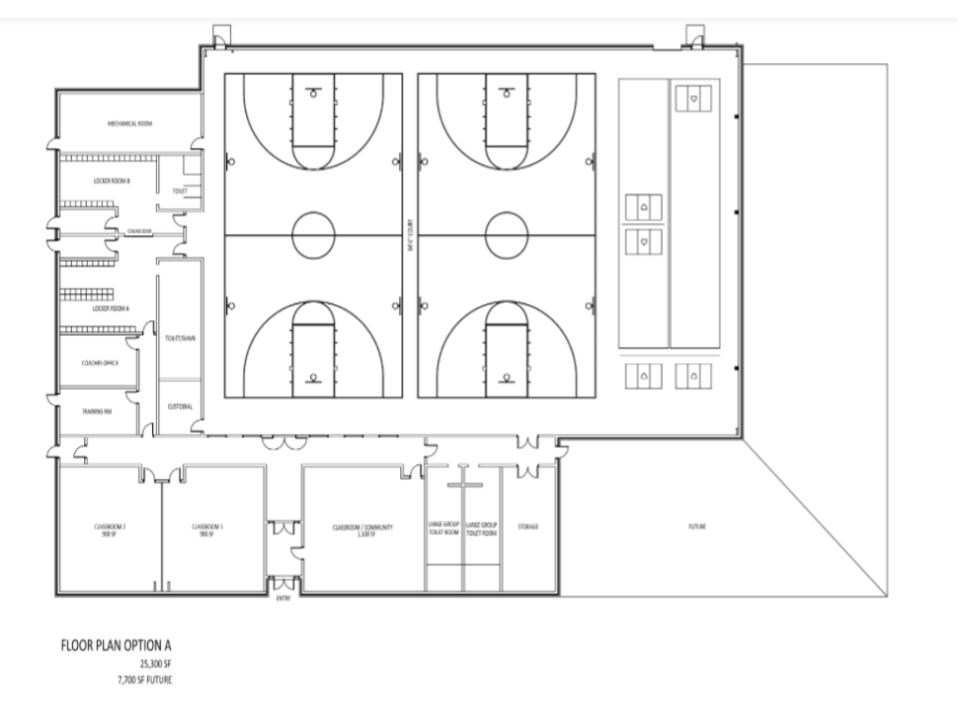 Floor Plan - Option A