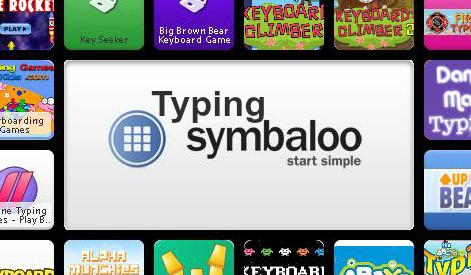 Typing Symbaloo