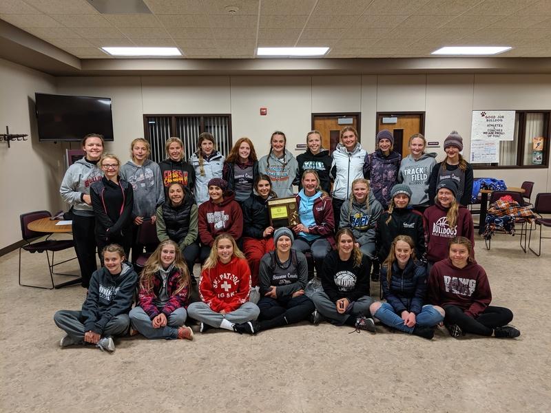 Bowman County Girls Track & Field Southwest Region 3rd Place